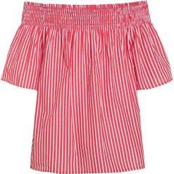 Polo Ralph Lauren STRIPE Bluzka red/white. Czerwone t-shirty chłopięce Polo Ralph Lauren, z nadrukiem, z bawełny. W wyprzedaży za 239,20 zł.