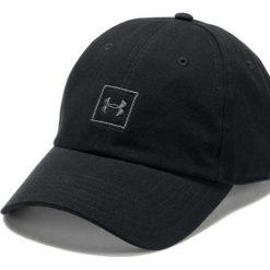 Under Armour Czapka męska Washed Cotton Cap Black (1327158001). Szare czapki z daszkiem męskie marki Under Armour, l, z dzianiny, z kapturem. Za 79,18 zł.