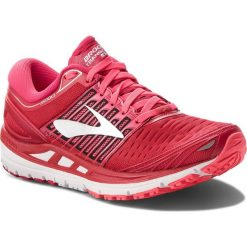 Buty BROOKS - Transced 5 120263 1B 699 Pink/Pink/Silver. Czerwone buty do biegania damskie Brooks, z materiału. W wyprzedaży za 459,00 zł.