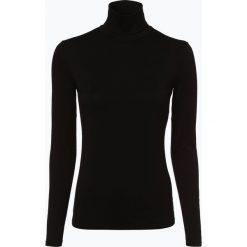 Weekend MaxMara - Damska koszulka z długim rękawem, czarny. Czarne t-shirty damskie WEEKEND MaxMara, m, z dżerseju, z golfem. Za 349,95 zł.