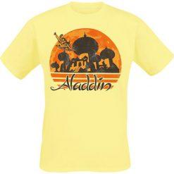 T-shirty męskie z nadrukiem: Aladyn Your Wish T-Shirt żółty