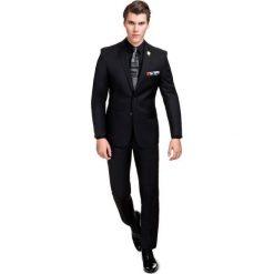 Garnitur MARCO 2 A166-13P. Czarne garnitury Giacomo Conti, z wełny. Za 599,00 zł.