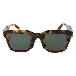 """Okulary przeciwsłoneczne męskie: Okulary przeciwsłoneczne """"SF854S"""" w kolorze beżowo-brązowym"""