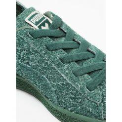 Puma X TC BASKET FURRY PS Półbuty wsuwane dark green/birch. Zielone trampki męskie Puma, z materiału. W wyprzedaży za 191,40 zł.