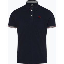 La Martina - Męska koszulka polo, niebieski. Niebieskie koszulki polo La Martina, l, z bawełny. Za 499,95 zł.
