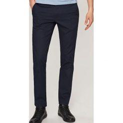 Rurki męskie: Spodnie chino slim fit - Granatowy