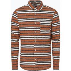 Review - Koszula męska, beżowy. Brązowe koszule męskie marki FORCLAZ, m, z materiału, z długim rękawem. Za 149,95 zł.