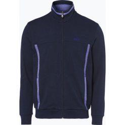 Bejsbolówki męskie: BOSS Athleisure - Męska bluza rozpinana – Skazos, niebieski