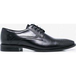 Wojas - Półbuty. Szare buty wizytowe męskie Wojas, z materiału, na sznurówki. Za 349,90 zł.