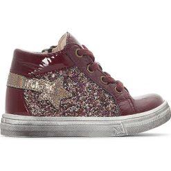 Buty sportowe dziewczęce: Wysokie buty sportowe z błyszczącymi detalami Banita