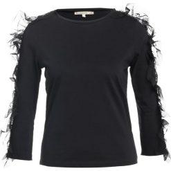 Bluzki asymetryczne: Patrizia Pepe Bluzka z długim rękawem black