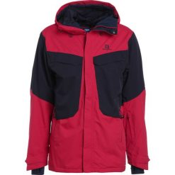 Salomon SNOW Kurtka snowboardowa barbados/night sky. Czerwone kurtki narciarskie męskie marki Salomon, sportowe. W wyprzedaży za 927,20 zł.