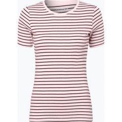 Brookshire - T-shirt damski, różowy. Czarne t-shirty damskie marki brookshire, m, w paski, z dżerseju. Za 39,95 zł.