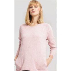 Odzież damska: Jasnoróżowy Sweter Average