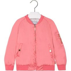 Bluza w kolorze różowym. Czerwone bluzy dziewczęce marki Mayoral. W wyprzedaży za 89,95 zł.