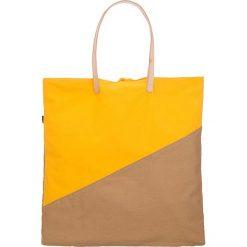 """Shopper bag damskie: Shopper bag """"Palm Tote"""" w kolorze żółto-jasnobrązowym"""