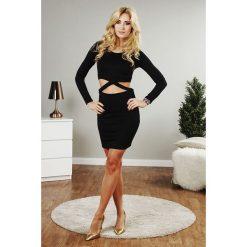 Sukienki: Sukienka mini czarna TA2605