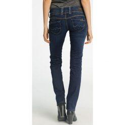Pepe Jeans - Jeansy Venus. Niebieskie jeansy damskie relaxed fit Pepe Jeans, z obniżonym stanem. W wyprzedaży za 359,90 zł.