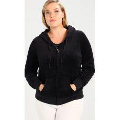 Juicy Couture Plus ROBERTSON Bluza rozpinana black. Czarne bluzy damskie Juicy Couture Plus, xxl, z bawełny. W wyprzedaży za 343,85 zł.