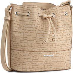 Torebka MONNARI - BAG1810-015  Beige. Brązowe torebki worki marki Monnari, ze skóry ekologicznej. W wyprzedaży za 129,00 zł.