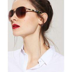 Okulary przeciwsłoneczne damskie aviatory: Okulary przeciwsłoneczne aviatorki – Wielobarwn