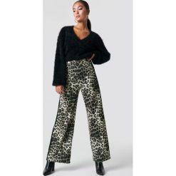 Spodnie damskie: Sisters Point Spodnie Glut 2 - Brown