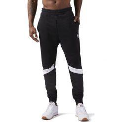 Spodnie Reebok EF Jogger (CD7464). Czarne joggery męskie Reebok, z bawełny. Za 109,99 zł.