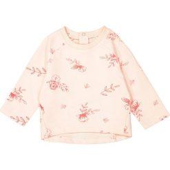 Bluza z moltonu z nadrukiem 1 m-c - 3 lata. Czerwone bluzy dziewczęce rozpinane marki La Redoute Collections, z nadrukiem, z bawełny, z długim rękawem, długie. Za 44,06 zł.