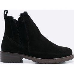 Emu Australia - Botki Pioneer. Czarne buty zimowe damskie marki EMU Australia, z materiału, z okrągłym noskiem. Za 799,90 zł.