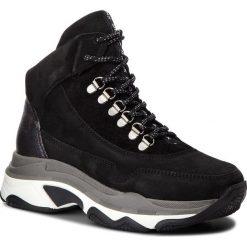 Sneakersy BRONX - 47119-A BX 1525 Black 01. Czarne sneakersy damskie marki Bronx, z materiału. W wyprzedaży za 479,00 zł.