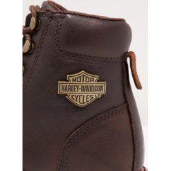 Botki męskie: Harley Davidson VISTA RIDGE  Botki sznurowane  brown