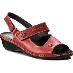Rzymianki damskie: Sandały COMFORTABEL – 710874 Rot 4