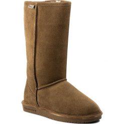 Buty BEARPAW - Emma Tall 612W Hickory II. Brązowe buty zimowe damskie Bearpaw, ze skóry, przed kolano, na wysokim obcasie. W wyprzedaży za 269,00 zł.