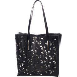 Torebki klasyczne damskie: Skórzana torebka w kolorze czarnym – (S)33 x (W)55 x (G)12 cm