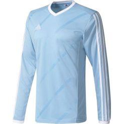 Adidas Koszulka piłkarska męska Tabela 14 Long Sleeve Jersey niebiesko-biała r. L (F50432). Białe t-shirty męskie marki Adidas, l, z jersey, do piłki nożnej. Za 68,19 zł.