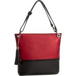 Torebka CREOLE - RBI1109 Czerwony/Czarny. Czerwone torebki klasyczne damskie Creole, ze skóry. W wyprzedaży za 209,00 zł.