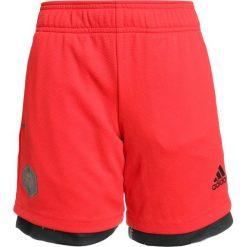 Adidas Performance SHORT Krótkie spodenki sportowe vivred/black/white. Niebieskie spodenki chłopięce marki Retour Jeans, z bawełny. Za 129,00 zł.