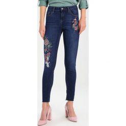 Dorothy Perkins ORIENTAL  Jeans Skinny Fit dark blue denim. Niebieskie jeansy damskie marki Dorothy Perkins, z bawełny. W wyprzedaży za 151,20 zł.