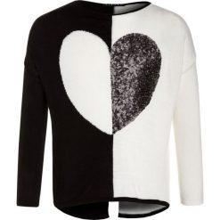 Sisley Sweter black. Czarne swetry chłopięce Sisley, z materiału. W wyprzedaży za 135,20 zł.
