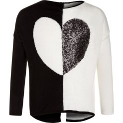 Swetry chłopięce: Sisley Sweter black
