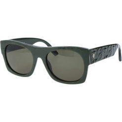 """Okulary przeciwsłoneczne damskie aviatory: Okulary przeciwsłoneczne """"0022/S AZ1/1E"""" w kolorze zielonym"""
