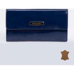 Portfele damskie: Elegancki, lakierowany portfel