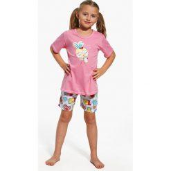 Dziewczęca piżama Lemonade. Szare bielizna chłopięca marki Astratex, z nadrukiem, z bawełny. Za 48,99 zł.