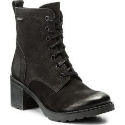 Botki LASOCKI - 4381-05 Czarny. Czarne buty zimowe damskie Lasocki, z nubiku. Za 279,99 zł.