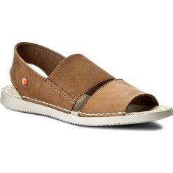 Rzymianki damskie: Sandały SOFTINOS – Taisof P900383001 Brown