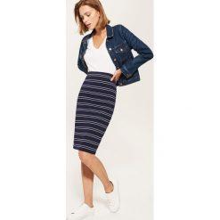 Spódniczki ołówkowe: Ołówkowa spódnica midi – Czarny