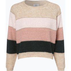 ONLY - Sweter damski – Malone, biały. Białe swetry klasyczne damskie marki ONLY, m. Za 129,95 zł.