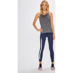Roxy - Legginsy. Białe legginsy sportowe damskie marki Roxy, l, z nadrukiem, z materiału. Za 169,90 zł.