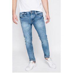 Only & Sons - Jeansy. Niebieskie jeansy męskie skinny marki Only & Sons, z aplikacjami, z bawełny. W wyprzedaży za 69,90 zł.