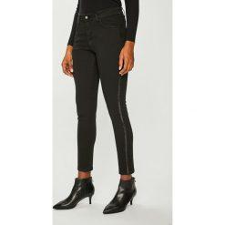 Answear - Jeansy. Czarne jeansy damskie rurki ANSWEAR. Za 199,90 zł.